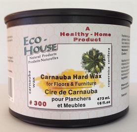 300 Carnauba Hard Wax Eco House Inc