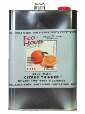 115 Xtra Mild Citrus Thinner Eco House Inc